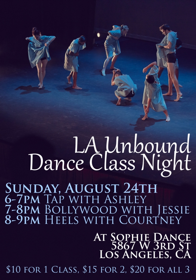 LA Unbound Dance Show 2014