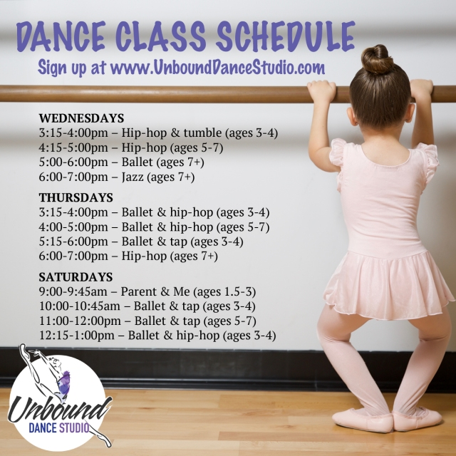 DanceClassSchedule